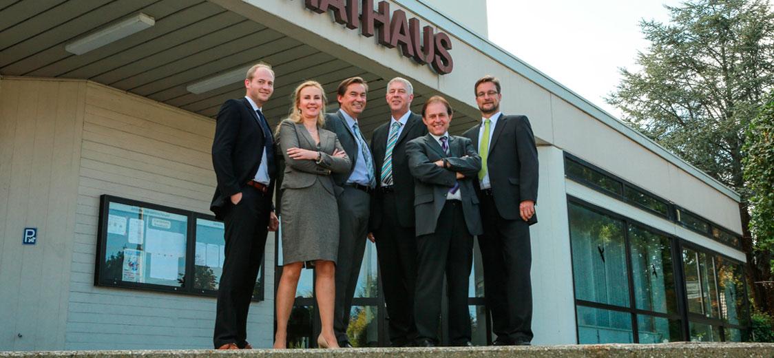 Stark vertreten: 5 Stadträte und 1 Bürgermeister setzen sich für Ihre Anliegen ein!