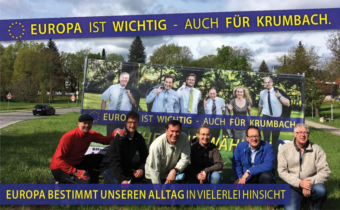 Europa ist wichtig, auch für Krumbach!
